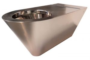 LX3740 WC Professional disabled suspended polished finish