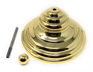 KIT-PIRAM-G DORATO pyramidal decorative cover kit (hermetic lid excluded)