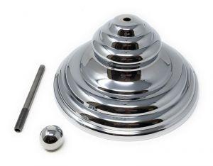 KIT-PIRAM-C CHROMED CHROMED decorative cover kit (hermetic lid excluded)