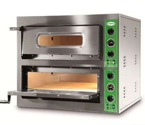 B8 + 8M - Pizza oven INOX 8 PIZZA 36 cm - Single phase B8 + 8