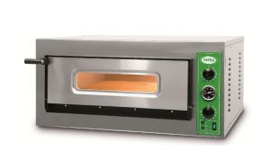 B8T - Pizza oven INOX 4 PIZZA 36 cm three-phase B8