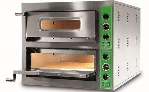 B9 + 9T - Pizza ovens INOX 12 PIZZA 36 cm three-phase B9 + 9