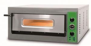 B9M - Pizza ovens INOX 6 PIZZA 36 cm Single-phase B9