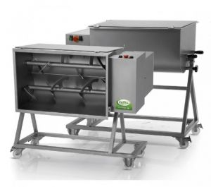 FIC 50M - Single-ply 50 KG kneading machine complete with trolley