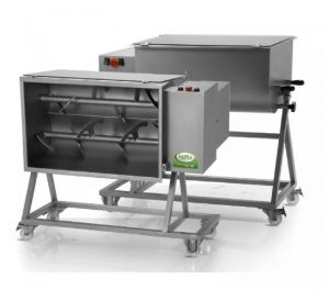 FIC 75M - 70 KG single-piece kneading machine complete with trolley
