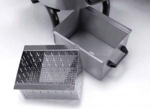 FPC309 - Puliscicozze 18 KG con basamento alto, cassetto e filtro incluso - Trifase