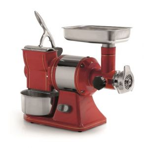 FTGR102 - Meat Mincer Grater RETRO 'TG12 R - STEEL - Three-phase