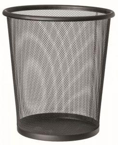 T150531 Perforated paper bin Black steel 13 liters (Pack of 20 pieces)