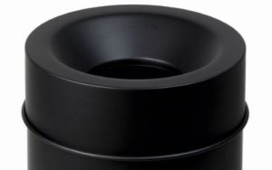 T770065 Fireproof lid Black for bucket 90 liters ONLY COVER