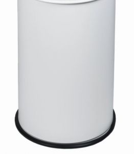 T770503 Bucket for fireproof wastebin White 50 liters WITHOUT COVER