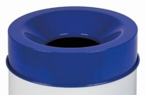 T770965 Fireproof lid Blue for bucket 90 liters ONLY COVER