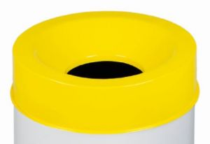 T770966 Fireproof lid Yellow for bucket 90 liters ONLY COVER