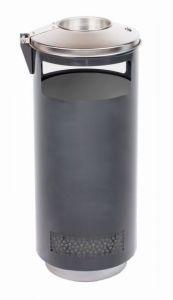 T776002 Portacenere-Gettacarte cilindrico per esterni 70 litri