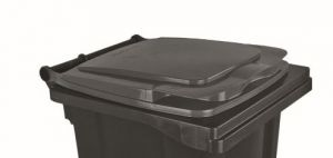 T910130 Grey lid for external waste container 120 liters