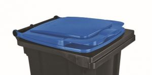 T910132 Blue lid for external waste container 120 liters