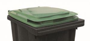 T910253 Coperchio Verde per contenitore rifiuti esterni 240 litri