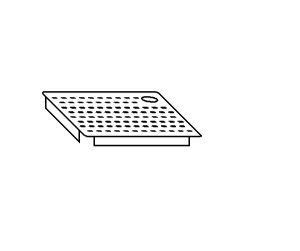 AC2016 Falsofondo Forato per Vasche DX 40x40