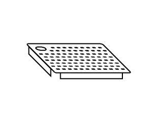 AC2020 Falsofondo Forato per Vasche SX 40x40