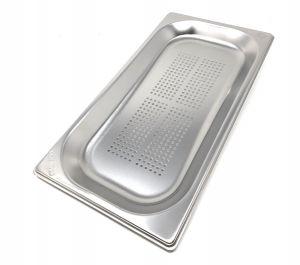 GST1/3P020F Contenitore Gastronorm 1/3 h20 forato in acciaio inox AISI 304