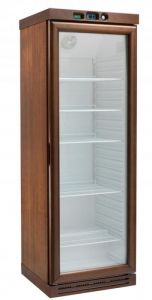 KL2791W Wine cabinet with static refrigeration - capacity 310 l -WENGE
