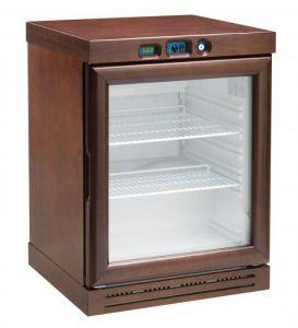 KL2793W Cantinetta per vini a refrigerazione statica - capacità  310 lt -  Colore wengè