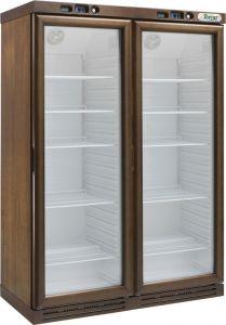 KL2794W Cantinetta per vini a refrigerazione statica - 310+310 lt - WENGE'