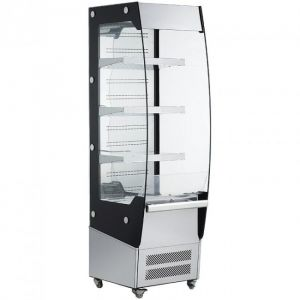 RTS180C Open wall display cabinet - 180 lt capacity