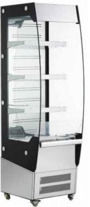 RTS220C Open wall display cabinet - 220 lt capacity