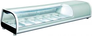RTS62B Vetrina per sushi refrigerata,da tavolo statica con illuminazione led