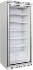 G- EF600G Statcio ECO glass door refrigerated cabinet - Capacity 555 Lt - Negative temp