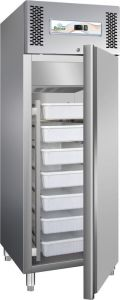 G-GN600FISH - Refrigerated cabinet 6 cassettes, positive temperature 507 Lt.