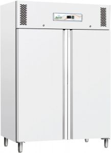 G-GNB1200TN White refrigerated cabinet, double door - 1104 lt capacity