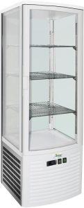 G-LSC235 Showcase refrigerated ventilated - Capacity 235 Lt - Inox temp. + 2 ° + 8