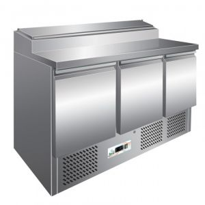 G-PS300 - Static refrigerated saladette temp. + 2 ° + 8 ° C capacity 392 lt