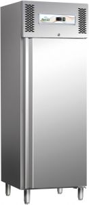 G-SNACK400BT AISI304 stainless steel refrigerated cabinet, Temp. -18 ° -20 ° C digital