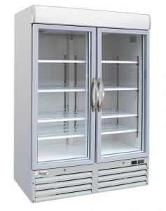 G-SNACK930BTG Tempered refrigerated cabinet temp -18 ° / -22 ° C capacity 1078 lt 2 doors
