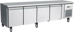 G-UGN4100TN - Banco tavolo refrigerato ventilato per gastronomia, alto 65 cm