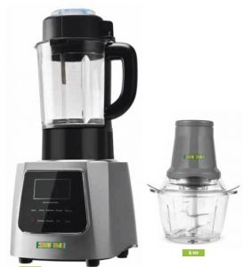 TM905+Q109 Blender with cooking function with manual cutter.