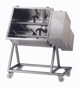 95C2PN Stainless steel electric meat mixer 95 kg 2 blades