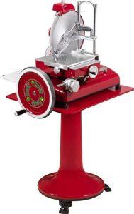 VV300RCAV Flywheel manual slicer red color blade 300mm with pedestal