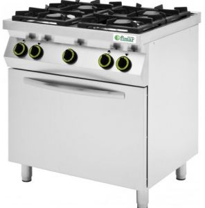 CC74GFEV Gas cooker with electric oven - Fimar