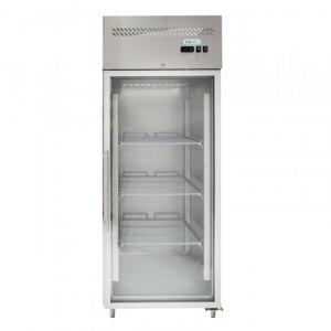 G-GN650BTG-FC Freezer Cabinet GN 2/1 Ventilated - Glass Door - Capacity Lt 650