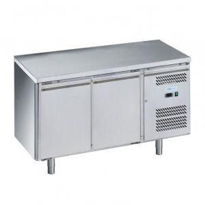 G-PA2100TN-FC Tavolo Refrigerato Pasticceria - 2 Ante - Temp -2° +8° C - Capacità Lt 390