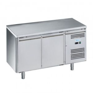 G-PA2200TN-FC Pastry Refrigerated Table - 2 Doors - Temp -2 ° + 8 ° C - Capacity Lt 390