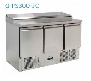 G-PS300-FC Saladette refrigerata  - Temperatura +2°/+8°C - Capacità litri 392