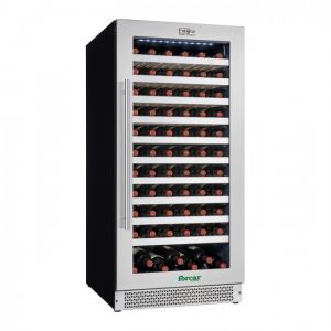 VI120S Wine cellar for ventilated wines ENOLO - Temp + 5 ° + 18 ° C - Capacity Lt 270