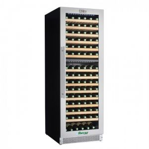 VI180D ENOLO Ventilated Wine Cellar - Double Temperature - Capacity 379 Lt