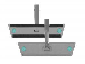 00000887Eu Telaio Sistema Velcro Infinity - Grigio - 38,5 Cm