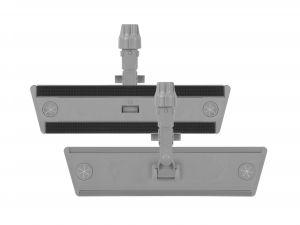 00000887Ey Telaio Sistema Velcro Con Block System - Grigio -