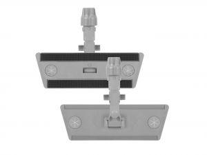 00000894EY Telaio Sistema Velcro Con Block System - Grigio -